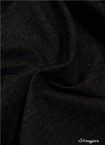 Jeans Stretch 8 OZ-265 gr/m² - Uni - Noir