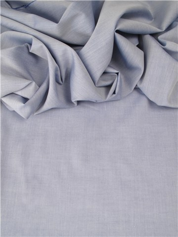 End-on-End - pure Cotton - Plain - Bleu nuage