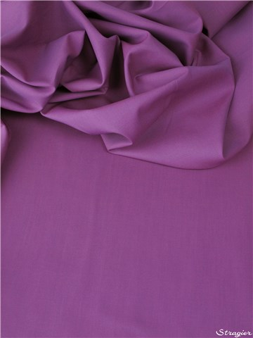 End-on-End - pure Cotton - Plain - Orchidée