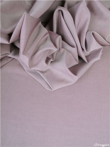 End-on-End - pure Cotton - Plain - Gris rose