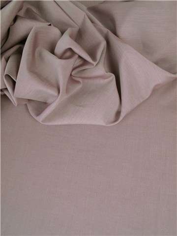 End-on-End - pure Cotton - Plain - Taupe clair