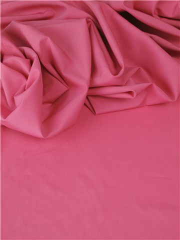 End-on-End - pure Cotton - Plain - Framboise