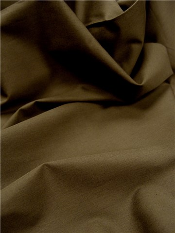 Poplin 59 threads/cm - Plain - Bronze