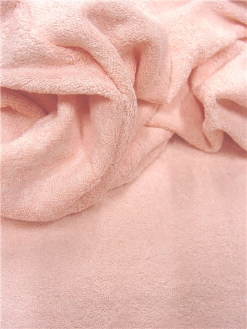Terrycloth - soft - Plain - Rose