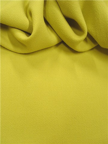 Double Wool Crepe - Plain - Anis