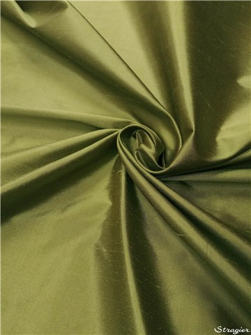 Douppion Silk - 137cm - Plain - Meadow