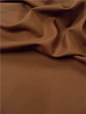 Lainage fin marron par Stragier
