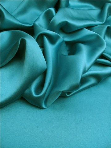 Crêpe Satin Royal - Uni - Aqua
