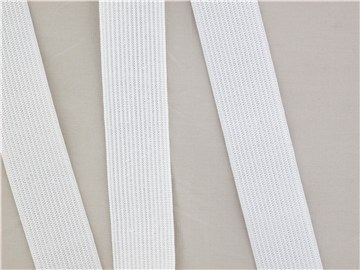 Knitted Elastic - Plain - Blanc écru - 25 mm