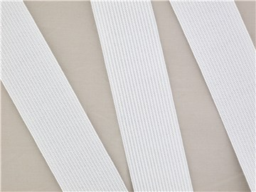 Knitted Elastic - Plain - Blanc écru - 30 mm