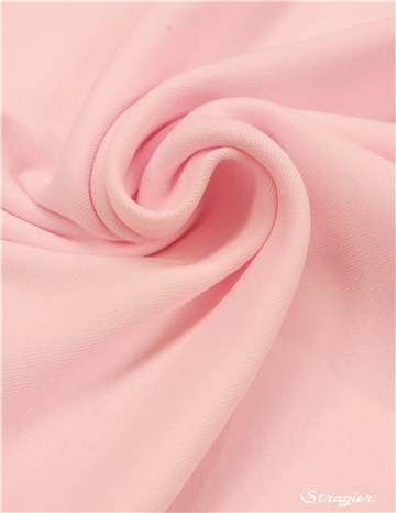 Interlock Coton 200gr/m² - uni - Rose