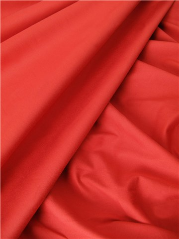 Gabardine Stretch - uni - Rouge brique
