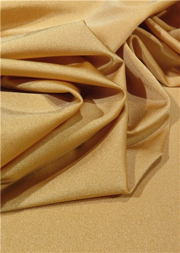 Ultra Stretch Glossy - uni - Caramel Gold