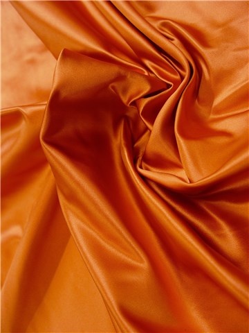 Satin duchesse 100% Soie (8 fils) - Uni - Orange