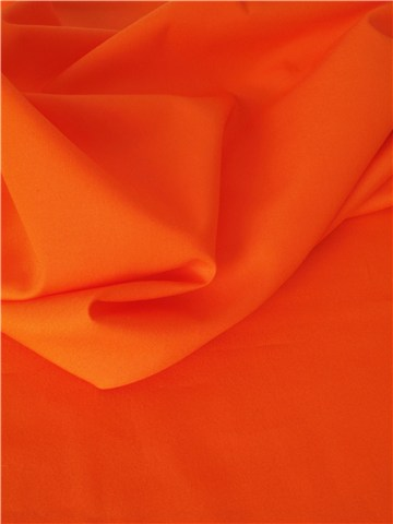 Popeline 59 fils/cm - Uni - Orange