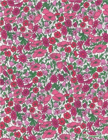 Liberty Tana Lawn - Petal and Bud - D