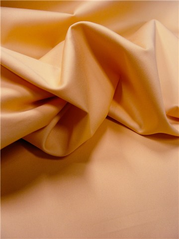 Satin de Coton extensible - uni - Melon