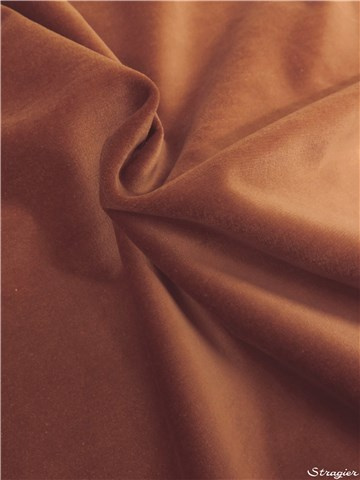 Velours lisse - 011125 - Cannelle