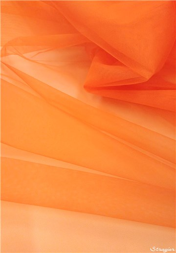 Tulle 40D - uni - Orange