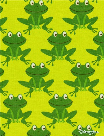 Jersey Coton stretch - Froggy - 04