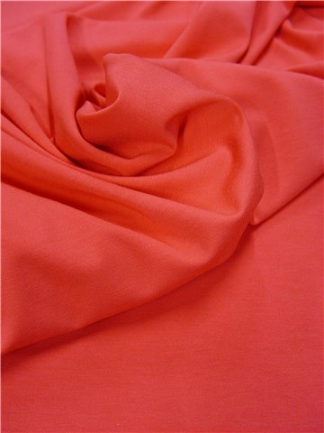 Jersey Extra-Soft - Uni - Rose Corail