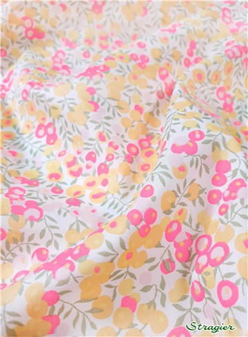 Liberty Tana Lawn - 9009 Wiltshire - Lemon Curd