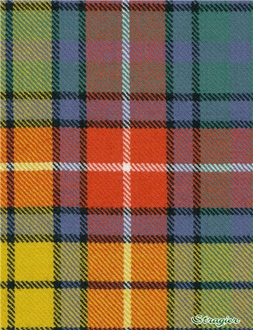 Tartan Ecossais Pure Laine - Buchanan Ancient -