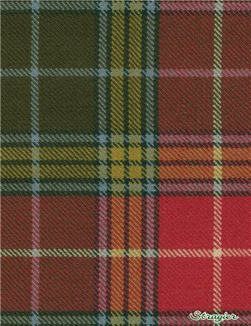 Tartan Ecossais Pure Laine - Buchanan Old Weathered -