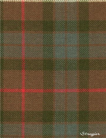 Tartan Ecossais Pure Laine - Fraser Hunting Weathered -