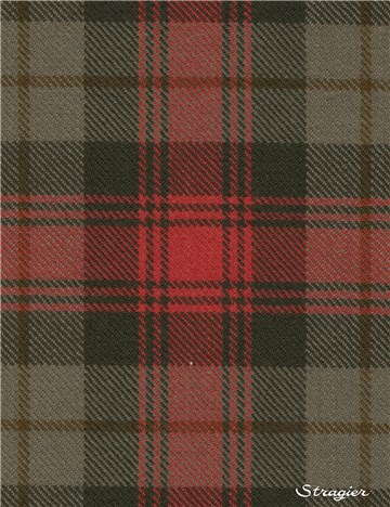Tartan Ecossais Pure Laine - Maclachlan Weathered -
