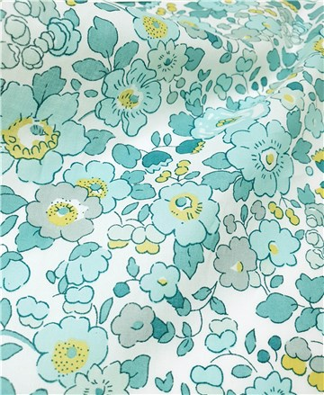 Liberty Tana Lawn - 2019 Betsy - Mint and Lemon