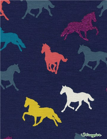 Jersey Coton stretch irisé - Galop - 031