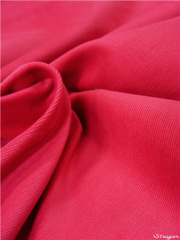 Velours Milleraies Soft - uni - Fuschia