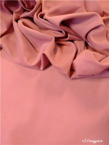 Velours Milleraies Soft - uni - Rose Zéphyr