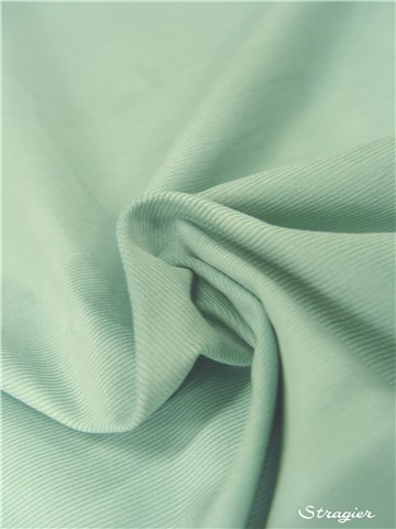 Velours Milleraies Soft - uni - Celadon
