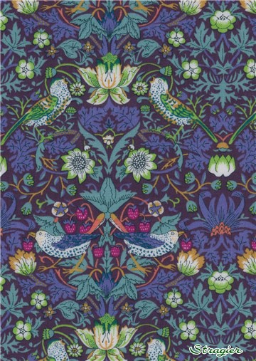 Liberty Tana Lawn - Strawberry thief - J