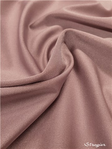 Ultra Stretch Glossy - uni - Rose grisé
