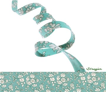 Biais Liberty - 3055 Capel - Sea Green - 10 mm