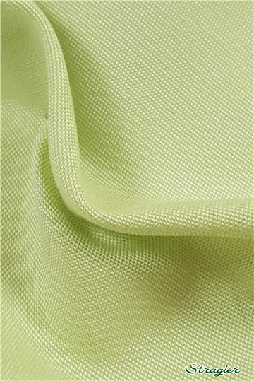 "Coton ""Pin-Point"" - uni - Lime"