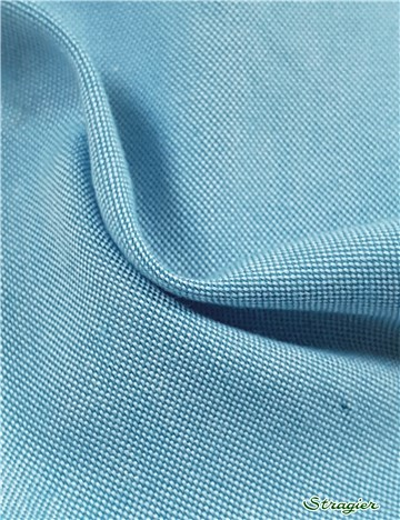 "Coton ""Pin-Point"" - uni - Teal"