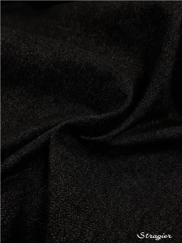 Jeans Stretch 12 OZ-360 gr/m² - Uni - Noir