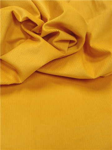 Velours milleraies Extra - Uni - Yellow