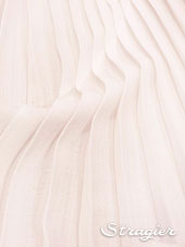 Pleated box - Ivory colour