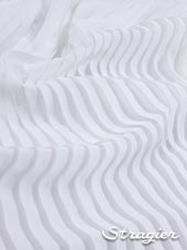 Satin washed pleated panels - Light ivory colour