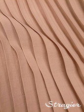 Pleated box - Powdery pink colour